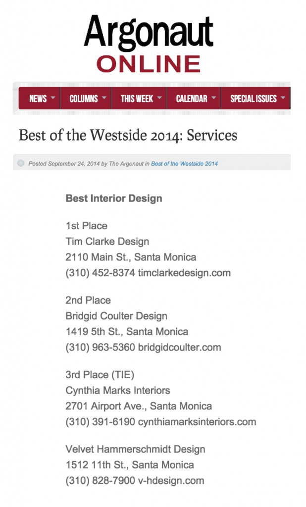 Best 2014 Services