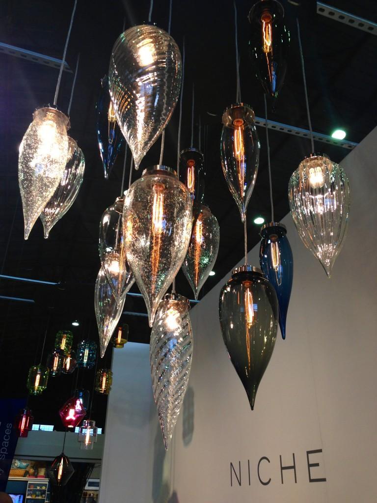 brilliant glow, interesting shapes